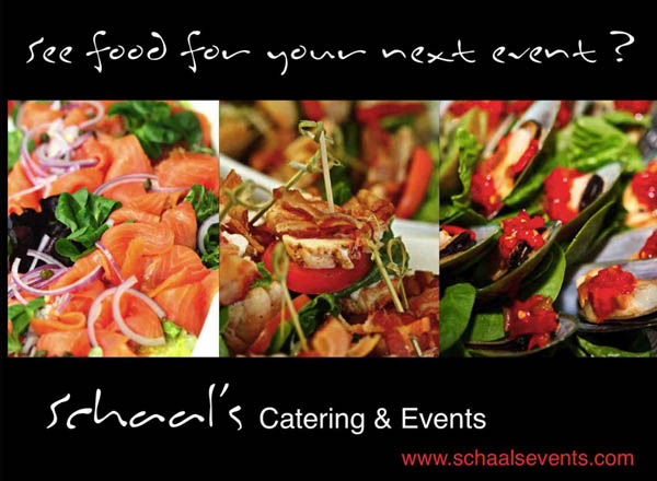 Schaals Catering and Events - Rate Sheet Comparison ...